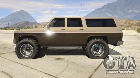 GTA 5 Off-roading Rancher segundo screenshot