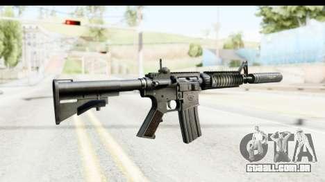 AR-15 Silenced para GTA San Andreas segunda tela