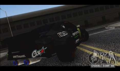 Toyota GT-86 RocketKroll LSA para GTA San Andreas traseira esquerda vista