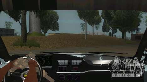 Peugeot 309 Rallye para GTA San Andreas vista interior