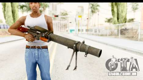 Lewis Machinegun para GTA San Andreas terceira tela