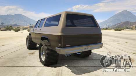 GTA 5 Off-roading Rancher terceiro screenshot