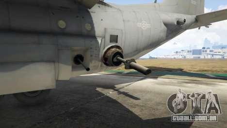 AC-130U Spooky II Gunship para GTA 5