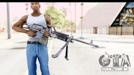 M240 FSK No Scope Bipod para GTA San Andreas terceira tela
