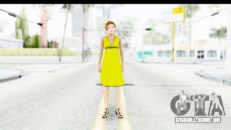 Margot Robbie para GTA San Andreas segunda tela