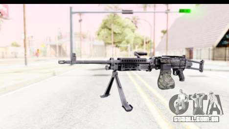 M240 FSK No Scope Bipod para GTA San Andreas