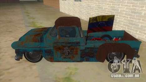 Chevrolet Apache para GTA San Andreas esquerda vista