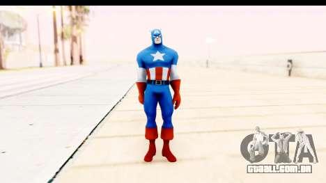 Marvel Heroes - Captain America para GTA San Andreas segunda tela