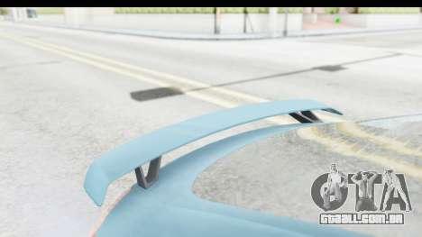 Audi TT RS para GTA San Andreas vista interior