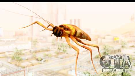 Flying Cockroach para GTA San Andreas traseira esquerda vista