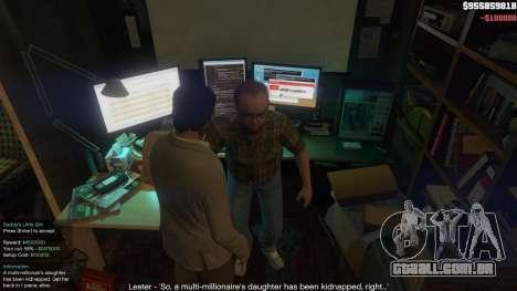 GTA 5 Story Mode Heists [.NET] 1.2.3 sexta imagem de tela