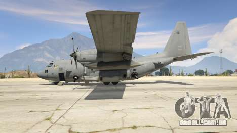 GTA 5 AC-130U Spooky II Gunship terceiro screenshot