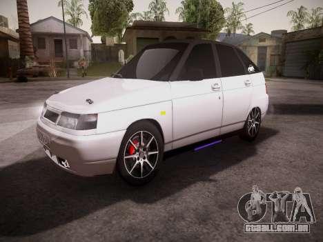 VAZ 2112 GVR qualidade para GTA San Andreas