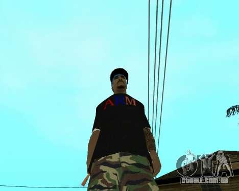 New Armenian Skin para GTA San Andreas nono tela