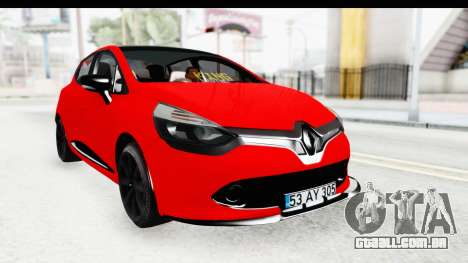 Renault Clio Four Air para GTA San Andreas