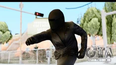 GTA 5 Heists DLC Male Skin 2 para GTA San Andreas
