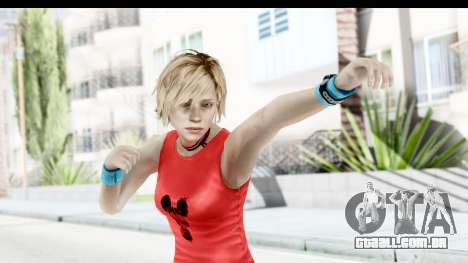 Silent Hill 3 - Heather Sporty Red Mickey Mask para GTA San Andreas