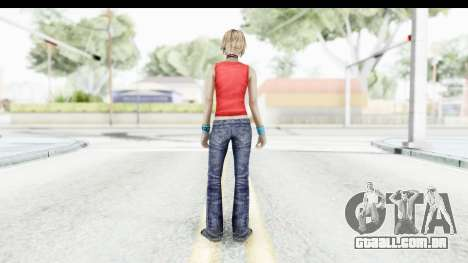 Silent Hill 3 - Heather Sporty Red Mickey Mask para GTA San Andreas terceira tela