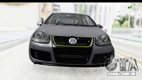 Volkswagen Golf 5 Stock para GTA San Andreas