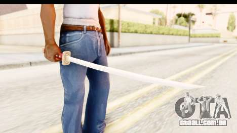 Bleach - Rukia Weapon para GTA San Andreas
