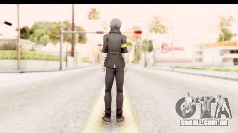 Persona 4: DAN - Yu Narukami Default Costume para GTA San Andreas terceira tela