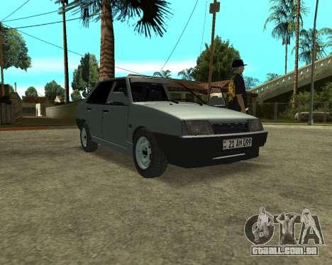 Vaz 21099 ARMNEIAN para GTA San Andreas