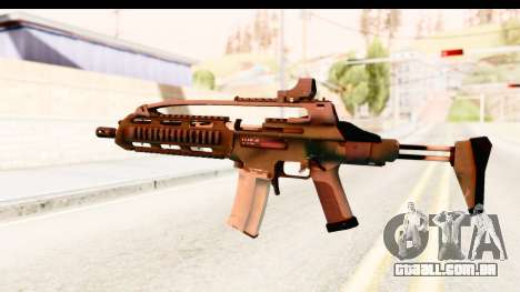 SCAR-LK Green para GTA San Andreas segunda tela