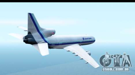 Lockheed L-1011-100 TriStar Eastern Airlines para GTA San Andreas vista direita