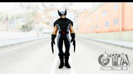 Marvel Heroes - Wolverine Xforce para GTA San Andreas segunda tela