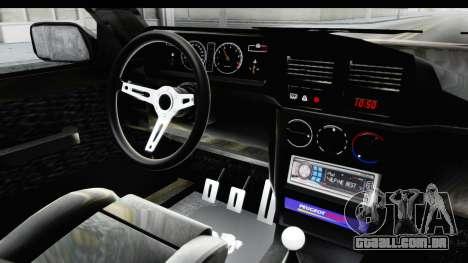 Peugeot 309 GTi para GTA San Andreas vista interior