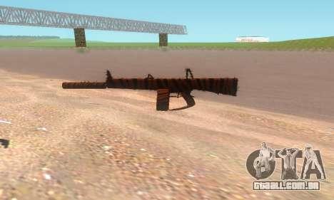 AA-12 para GTA San Andreas por diante tela