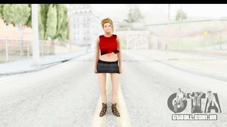Lola Del Rio para GTA San Andreas segunda tela