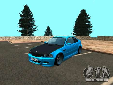 BMW M3 E46 Postura para GTA San Andreas