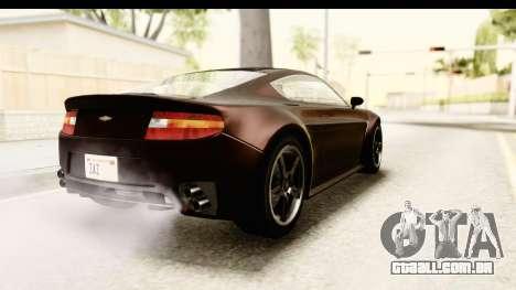 GTA 5 Dewbauchee Rapid GT SA Style para GTA San Andreas esquerda vista