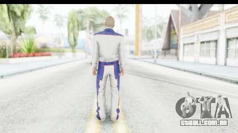 GTA 5 DLC Cunning Stuns Male Skin para GTA San Andreas terceira tela