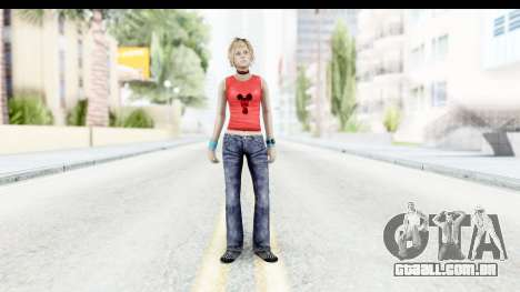 Silent Hill 3 - Heather Sporty Red Mickey Mask para GTA San Andreas segunda tela