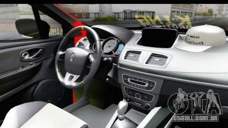 Renault Clio Four Air para GTA San Andreas vista direita