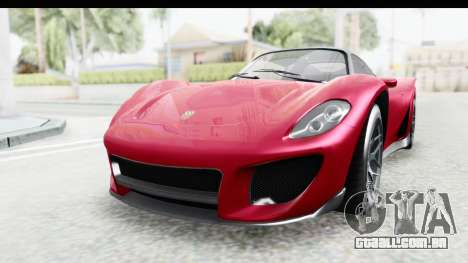 GTA 5 Pfister 811 with Mip Map para GTA San Andreas
