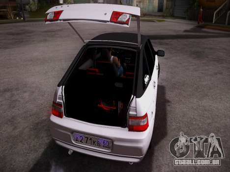 VAZ 2112 GVR qualidade para GTA San Andreas vista direita