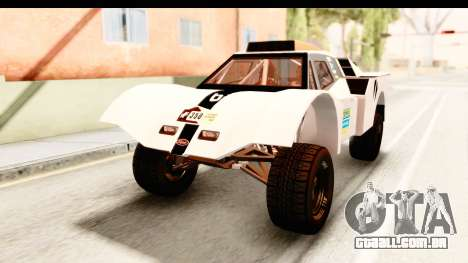 GTA 5 Desert Raid IVF para GTA San Andreas vista inferior