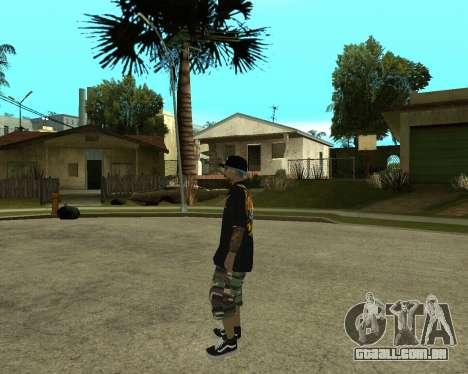 New Armenian Skin para GTA San Andreas décimo tela