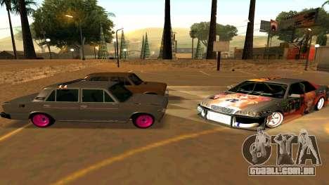 Toyota Chaser para GTA San Andreas vista superior