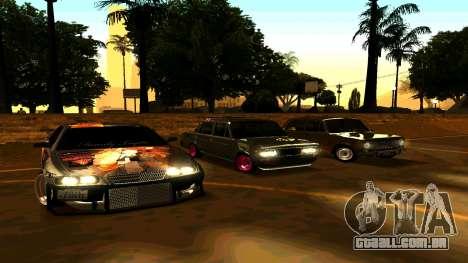 Toyota Chaser para GTA San Andreas vista direita