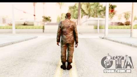 Left 4 Dead 2 - Zombie Military para GTA San Andreas terceira tela
