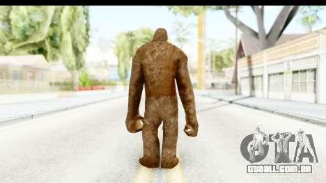 Pie Grande v1 para GTA San Andreas terceira tela
