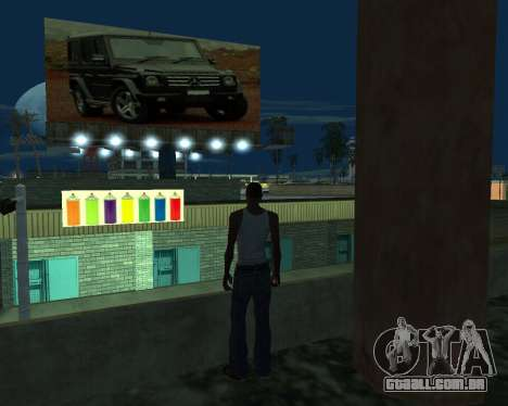 Pinte a garagem para GTA San Andreas