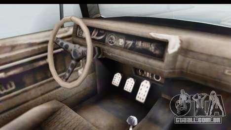 GTA 5 BF Injector para GTA San Andreas vista interior