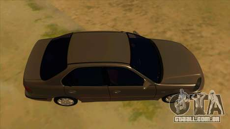 Honda Civic Sedan Stock para GTA San Andreas vista interior