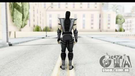Mortal Kombat vs DC Universe - Smoke para GTA San Andreas terceira tela