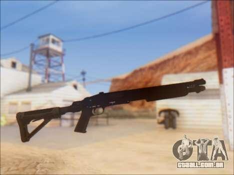GTA V Shrewsbury Pump Shotgun para GTA San Andreas